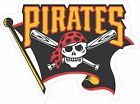 MLB PITTSBURGH PIRATES JOLLY ROGER 5 year outdoor vinyl decal sticker 4 sizes on Ebay