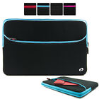 """15.6"""" Washable Neoprene Protective Carrying Sleeve Case fits HP Laptop PC"""