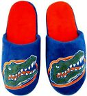 Florida Gator's NCAA Licensed Big Logo Embroidered Men's Slippers All Sizes