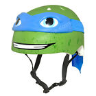 Raskullz TMNT Leonardo Kids Bike Helmet Ninja Turtles Children?s Youth Small NEW