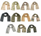 TACTICAL AIRSOFT HUNTING SCARF FACE VEIL MASK MULTI COLORS