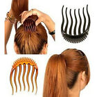 BUMP IT UP Volume Inserts Hair Clip for Ponytail Bouffant Styles Hair Comb New