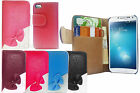 BOW Designer Leather Wallet Flip Book Case Cover for Samsung iPhone 5S SE Nokia