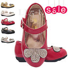 Girls Infant Children Wedding Fancy Sandals Party Shoes Sz 3 4 5 6 7