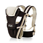 Baby Carrier Infant Newborn Backpack Sling Kid Rider Wrap Front Back 4 positions