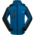 NWT Men Jacket Soft Shell Coat Fishing Outdoor Sport Snowboard Casual Clothes