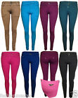 WOMENS NEW LADIES SKINNY FIT STRETCH JEANS TROUSERS JEGGINGS HOT PANTS TIGHTS