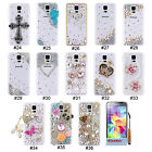 Bling 3D Rhinestone Design Hard Back Case Cover Skin For Samsung Galaxy S5 Mini