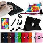 Rotating Cover Case + Bluetooth Keyboard +Bundles for Samsung Galaxy Tab S 10.5""