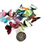 Mini - Small Butterflies - 3D, 12 Colours to choose from, Cards, Scrapbooking