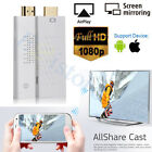 Wireless Wifi HDMI Display Dongle Screen Mirroring ALLShare Case HDTV TV Adapter