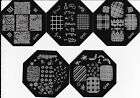 New Nail Art Image Stamp Stamping Plates Manicure Template QA94-98 Series