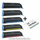 1 - 5 Toner für HP Color Laserjet 1600 2600 2605DN DTN Canon Cartridge CRG 707
