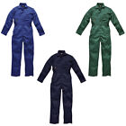 New Dickies Mens Collared Elasticated Stud Fastened Overall Jumpsuit Size 42-48