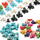 1 Strand Howlite Turquoise Butterfly Charms Gems Stone Loose Beads Findings DIY