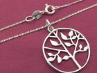 925 sterling silver Tree of Life Pendant / Necklace Ladies Jewellery