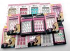 12 PCS Young Girl's Pre Designed False Nail Art Pre Decorated Acrylic Nail Tips