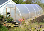 12ft Wide Polytunnel / Greenhouse Poly Tunnel Polythene Cover Cloche Garden