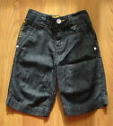 BNWT NEXT 2012 Dark Wash Denim Shorts Adjustable Waist 4-5 Yrs