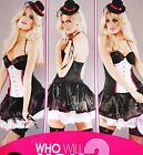 Ex-Ann Summers  'RING LEADER Sexy Bedroom Dress-Up or Hen Night  sz  14