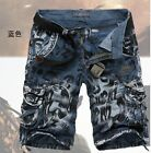 New - Fashion Military style colorful outdoor men's shorts