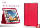 "Yoobao Brand Cow Leather Smart Cover Case for iPad 2 iPad 3 iPad 4 9.7""Device"