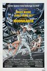 MOONRAKER Movie Poster James Bond 007 Roger Moore $17.98 USD