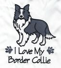 BORDER COLLIE   EMBROIDERED PERSONALISED HOT WATER BOTTLE COVER 6 COLOURS BNWT