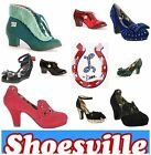 Miss L Fire shoes vintage look gorgeous shoes - bargain prices from £40!