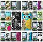 For Alcatel One Touch Sonic LTE A851L Multi Designs Hard Snap On Cover Case