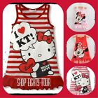 Kids/Girls Minnie Mouse Polka Dots Hello Kitty Summer Dress Size1,2,3,4,5