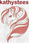 Manes In The Wind - Machine Embroidery Designs Set of 10 On CD