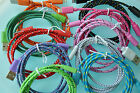 Lot ROUND BRAIDED 6FT fabric power charge cables FOR iphone 5 5s 5c 6 data sync
