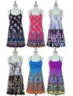 NWT beaded tank dress sleeveless paisley floral print racerback