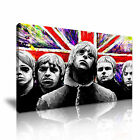 Oasis Rock Band  Modern Wall Art Canvas Print Framed Box ~ Many Size & Style