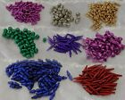 Metallic Wire Coil Beads - **Free postage for multiple purchases**