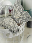 WEDDING last 12 packs reduced BUTTERFLIES FOR CAKES AND BOUQUET  pack 12 ETC.