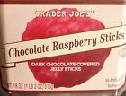 1 4x Trader Joe Candy Dark Chocolate Jelly Sticks Toffee Lollipop Fruit Mint