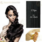 "22"" DIY kit Indian Remy Human Hair I tips/micro beads  Extensions  AAA GRADE #1"