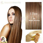 "26"" DIY kit Indian Remy Human Hair I tips/micro beads  Extensions  AAA GRADE #6"