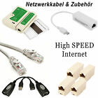 LAN Ethernet Netzwerk Patch CAT6 kabel gigabit  / USB Switch / Tester Testgerät