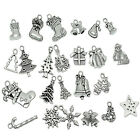 Wholesale lots Mixed Christmas X-mas Charm Pendants