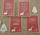 East of India Vintage Christmas Card Special Mum Dad  Recycled Retro Kraft