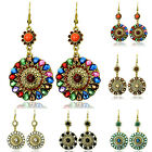Exotic Chic Bohemian Vintage Long Drop Dangle Statement Eardrop Tassel Earrings