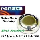 RENATA 389 SR1130W Swiss Watch Cell Battery Silver Oxide 1.55V New X 1,2,5,10