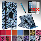 For Apple Ipad Mini 3 2 1 Pu Leather Smart Case Cover Stand + Accessories Bundle