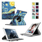 360 Rotating Leather Stand Case Cover Wake/Sleep for Apple iPad Air 2 (iPad 6)