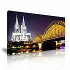 CITYSCAPE Europe Germany 1 1-21 Canvas Framed Printed Wall Art ~ More Size