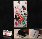 Butterfly Luxury Wallet Flip wallet card leather case fr Samsung Iphone Nokia G9