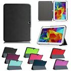 Flip Leather Case Smart Cover for Samsung Galaxy Tab 4 Nook 10.1 inch Tablet